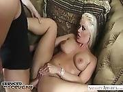 Cougar Holly Heart Seduces And Fucks A Young Buck   Naughty America