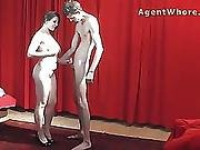 Bj Hanjob And Pussy Fuck From Busty Wife
