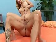 Blonde Wife Angela Atteson Takes Big Dick