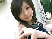 Yuki Suzuki Blue Swimwear