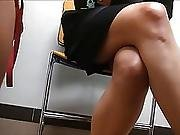 Sexy Coworkers Legs