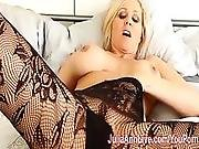 Milf Julia Ann Teases You With Lingerie Helps You Cum