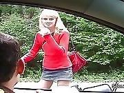 Czech Teen Seduce Fake Porn Casting Outdoor By 2 German Boys