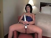 big clit,  brunette,  clit,  masturbation,  milf,  pussy,  solo,  toys,  vibrator