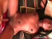 Eve Hot African Amateur Taking A Pounding