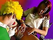 anal,  clown,  fucking,  funny,  teen,  tight,  young