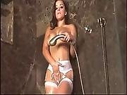 ass ,  ass finger,  european,  fingering,  masturbation,  pussy,  sex ,  shower,  teasing