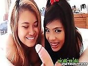 Thai Threesome Is Not For The Weak At Heart!