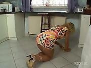 Hot Mom Fuck In The Kitchen