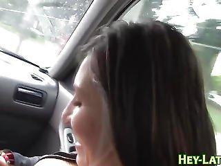 Latina Sucks Cock N Balls