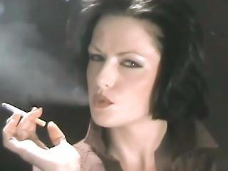 bambola, britannica, punto di vista, fumo