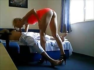 Amateur Hot Tall Blonde On Real Hiddencam
