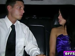 Tight Teen Katie Wants To Have Sex With Her Boyfriend But He Dumped Her At The Prom She Decided To Fucked By The Limousine Driver And Gave Her Virgin Pussy And She Enjoyed Having Sex With Him