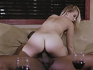 Sexy Blond Sierra Nicole Screwed By Massive Black Boner