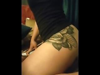 Riding My Body Wand Quick Tease Clip