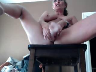 Mature Play Dildo