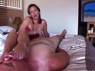 Mistress Di Foot Worship And Blowjob