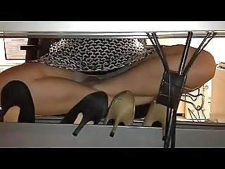 Under Desk Compilation Upskirts Office