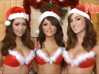 Classic Holly Peers, India Reynolds & Rosie Jones At Christmas