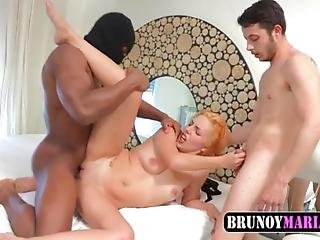 Marido Cornudo Trae A Su Mujer Un Negro Pollon A Brunoymaria