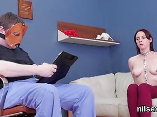 Delirious Centerfold Comes For Unusual Anal Hole Treatment And Enjoys Bdsm With Deep Anal Ass To Mouth Hardcore Fucking