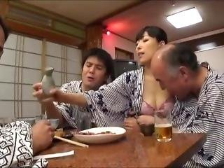 απιστία, μεθυσμένη, ιαπωνικό, Milf, σύζηγος