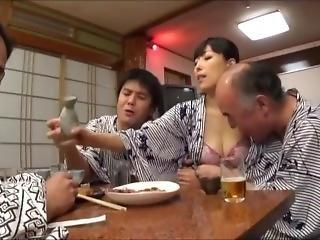 Trair, Bêbada, Japonesa, Milf, Esposa