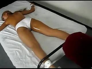 Sexy Blonde Japanese Girl Hardcore Tickle Tortured