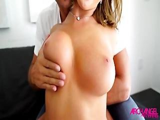 Blonde Bombshell August Ames Fucked Hard