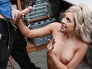 Allie Spread Her Legs Wide Open Ready To Be Pounded By Officer Wrex