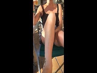 Just Horny On Holiday Pussy Flash