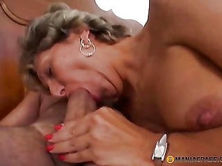 Blonde, Blowjob, Fucking, Girl Fucks Guy, Mature, Natural