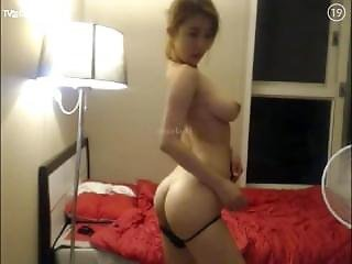 Big Tit, Korean, Webcam