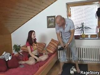 Deep Throat And Pussy Pounding