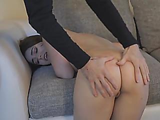 Brunette Teen Kylie Quinn Smooth Ass Hard Hitting Experience