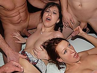 amatør, bukkake, deepthroat, extrem, facial, knulling, gruppesex, tysk, orgy, fest, sex, Tenåring