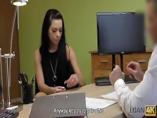 Loan4k Babe Is Banged By Strange Loan Agent Following His Proposal
