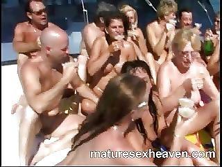 Grannys More Yacht Orgy Part 4