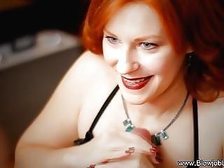 Pipe, éjaculation, Milf, Oral, Sexe
