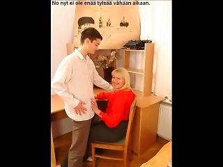 Slideshow With Finnish Captions: Russian Mom Kira 10