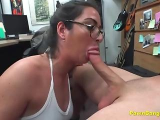 American Cock Bangs Big Titty French Slut