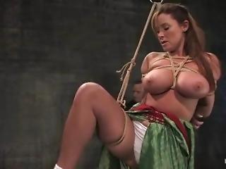 Christina Carter In Hogtied