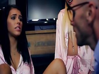 Missax.com - Daddy It Hurts Ii Kissa Sins Johnny Sins And Adriana Chechik