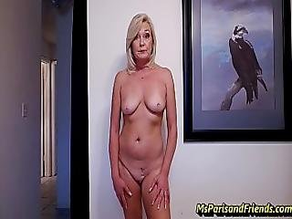 Ms Paris And Her Amateur Theater Paying With Pussy