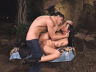 Two Big Juggs Ladies Enjoying Hard Cocks In The Bedroom