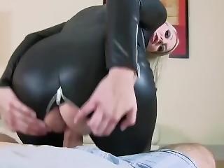 Caracum - Black Leather Dress