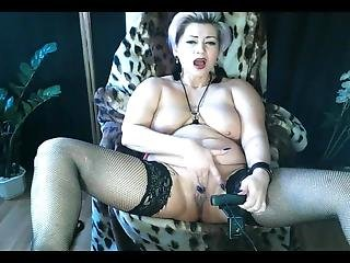 Hot Sexy Cougar Aimeeparadise: Orgasm Compilation, Blowjob