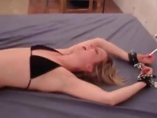 Blond Pretty Girl Gets Tickle Tortured