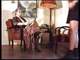 Old Woman Enjoying Her Teen Vixen