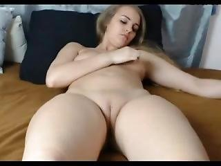 21yo Girl Fingers And Shows Pussy Closeup 1